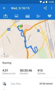 Runtastic Running Fitness3