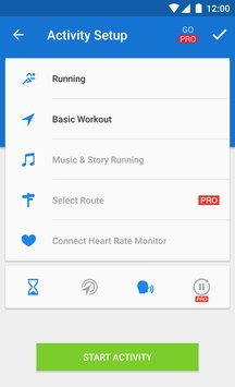 Runtastic Running Fitness4