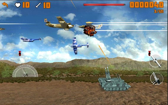 Tanks vs Warplanes 4