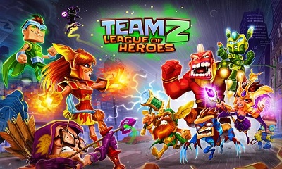 Team Z - League of Heroes logo