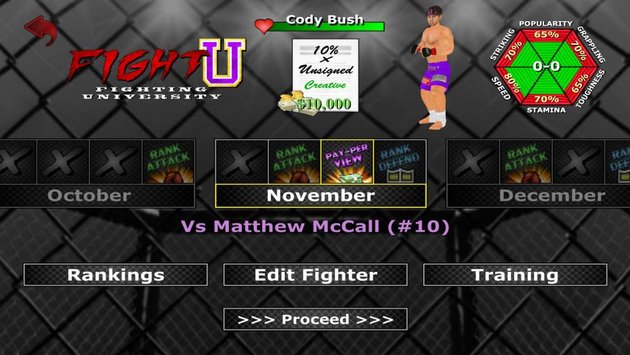 Weekend Warriors MMA 4