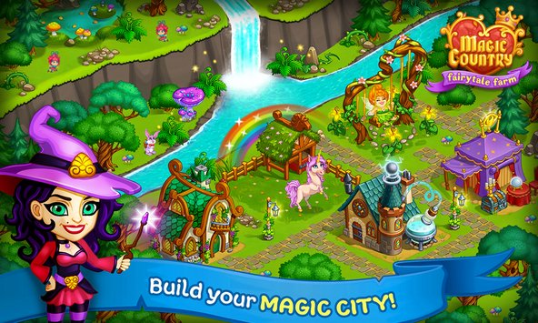 Magic Country fairy city farm 4