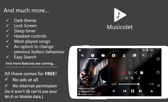 Musicolet Music Player9
