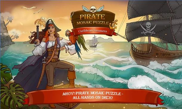 Pirate Mosaic Puzzle 2