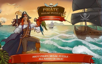 Pirate Mosaic Puzzle 7