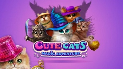 Cute Cats Magic Adventure