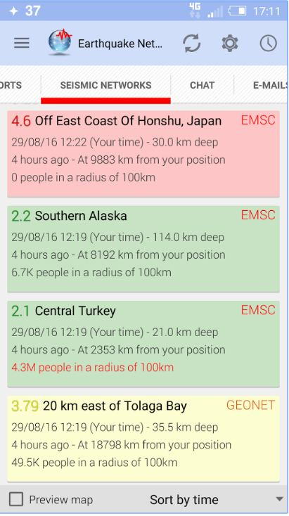 Earthquake Network Pro - Realtime alerts 2