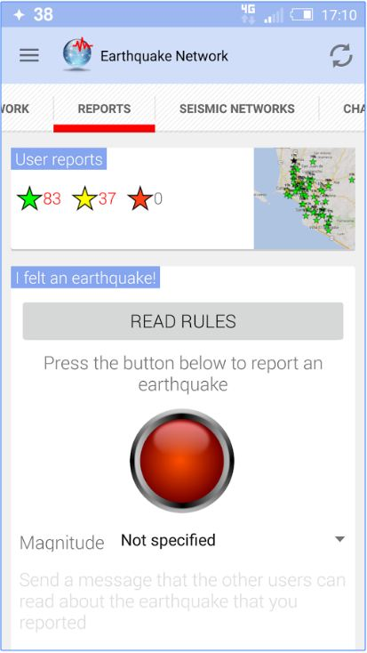 Earthquake Network Pro - Realtime alerts 4