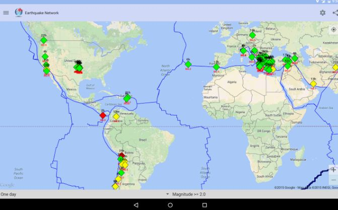 Earthquake Network Pro - Realtime alerts 8