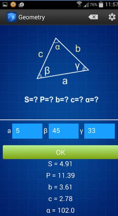 Geometry Calculator 5