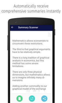 Summary Scanner 1