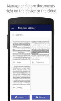 Summary Scanner 3