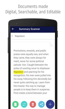Summary Scanner 4