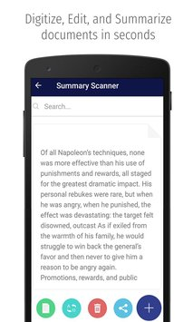 Summary Scanner