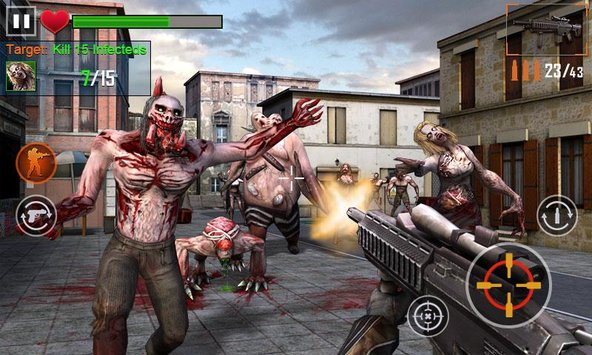Zombie Shooter 3D 2