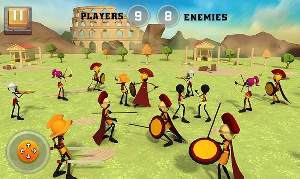 Battle of Rome War Simulator 1