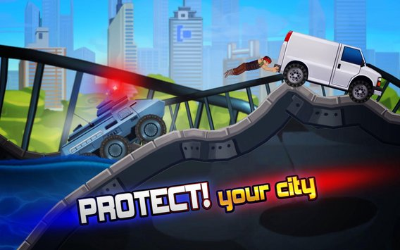 Elite SWAT Car Racing Army Truck Driving Game 5