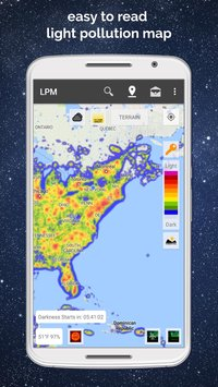 Light Pollution Map - Dark Sky Finder Astro Tools 1