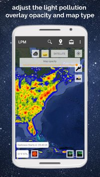 Light Pollution Map - Dark Sky Finder Astro Tools 2