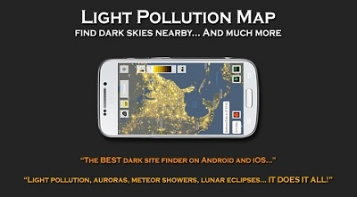 Light Pollution Map - Dark Sky Finder Astro Tools