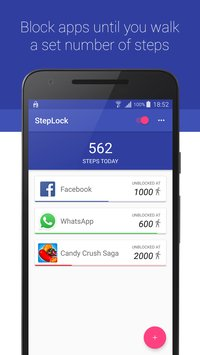 StepLock • Walk & Unblock Apps 1