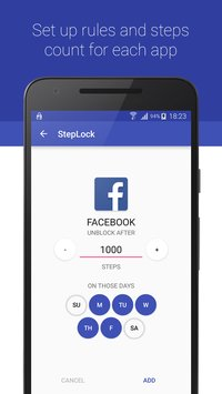 StepLock • Walk & Unblock Apps 2