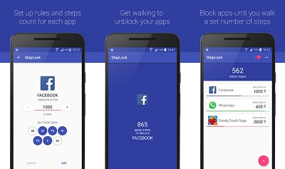 StepLock • Walk & Unblock Apps