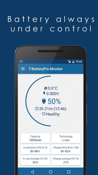 T Battery Pro Monitor 1