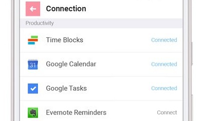 TimeBlocks -CalendarTodoNote 3
