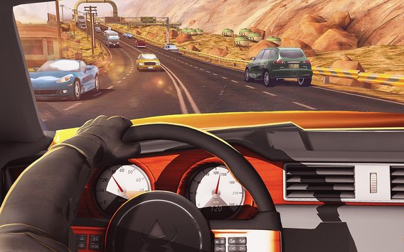 Traffic Xtreme 3D Fast Car Racing Highway Speed1