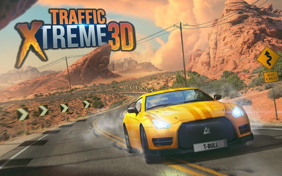 Traffic Xtreme 3D Fast Car Racing Highway Speed8
