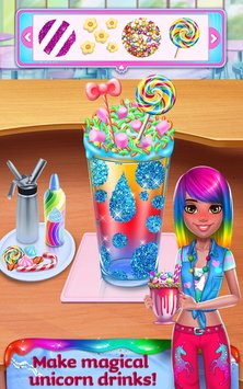 Unicorn Food - Rainbow Glitter Food & Fashion 1