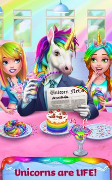 Unicorn Food - Rainbow Glitter Food & Fashion 4