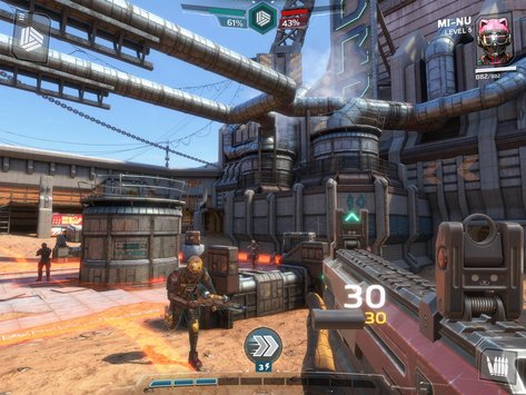 Modern Combat Versus New Online Multiplayer FPS 1