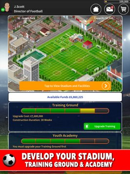 Club Soccer Director - Soccer Club Manager Sim 6