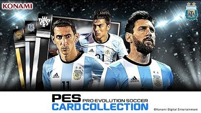 PES CARD COLLECTION 6