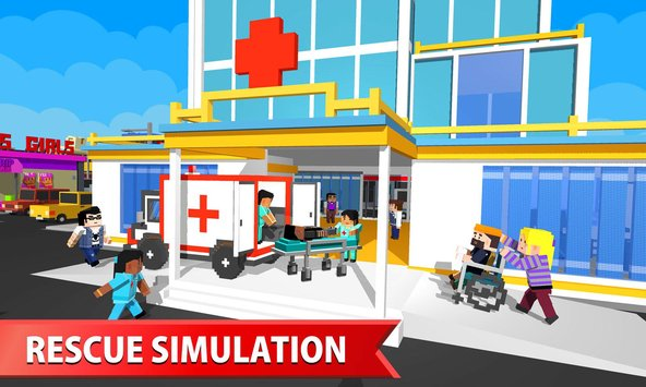 Hospital Craft Building Doctor Simulator Games 3D2