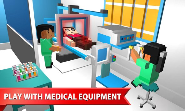 Hospital Craft Building Doctor Simulator Games 3D4