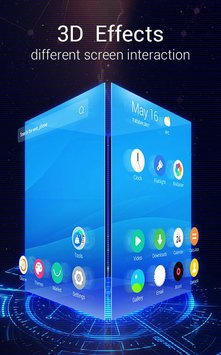 U Launcher 3D Live Wallpaper Free Themes Speed1