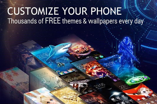 U Launcher 3D Live Wallpaper Free Themes Speed3