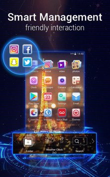 U Launcher 3D Live Wallpaper Free Themes Speed6