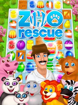 Zoo Rescue Match 3 Animals5
