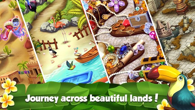 Mahjong World Adventure The Treasure Trails2