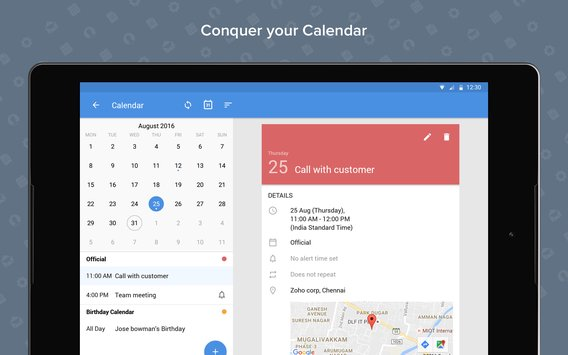Zoho Mail Email and Calendar4