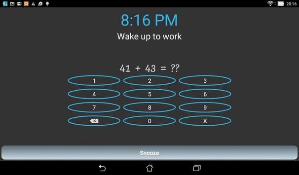 Alarm clock to wake you up11