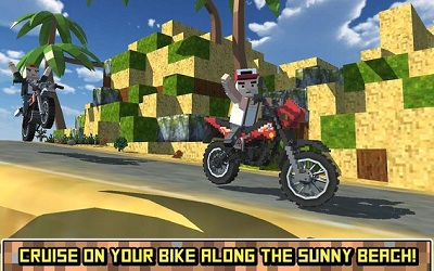 Blocky Moto Bike SIM Summer Breeze