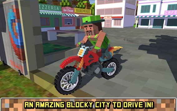 Blocky Moto Bike SIM Summer Breeze2