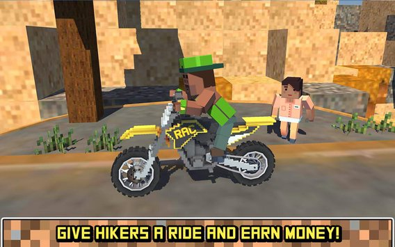 Blocky Moto Bike SIM Summer Breeze3