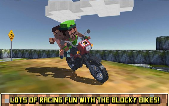 Blocky Moto Bike SIM Summer Breeze4