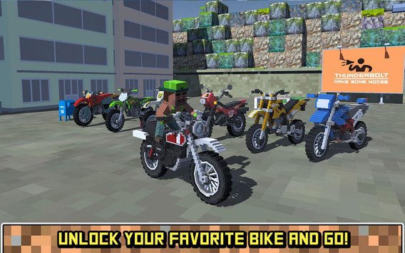 Blocky Moto Bike SIM Summer Breeze5